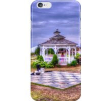 Gazebo at Blue Mountain  iPhone Case/Skin