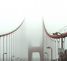 Golden Gate to heaven by Gili Orr