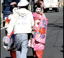 Kyoto Girls by Caprice Sobels