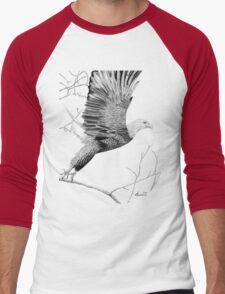 Spreading the ealge's wings Men's Baseball ¾ T-Shirt
