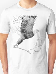 Spreading the ealge's wings T-Shirt