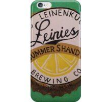 Summer Shandy bottle cap iPhone Case/Skin