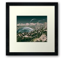 NORWAY. Framed Print