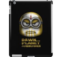 Dawn of the Planet of the Henchmen iPad Case/Skin