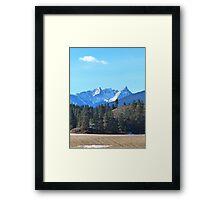January Trapper Framed Print