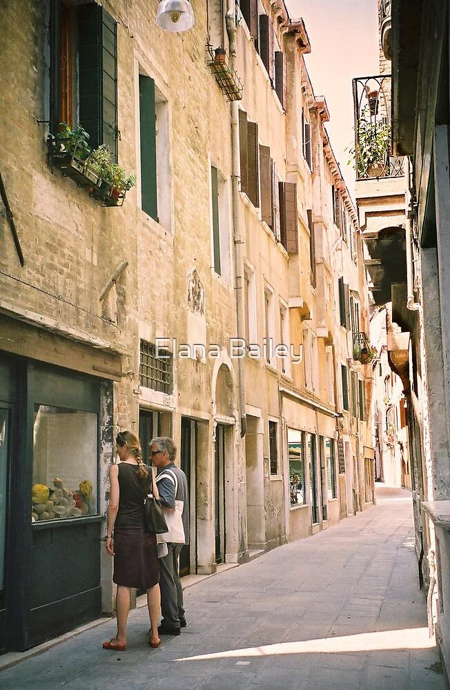 Window Shopping in Venice, Italy by Elana Bailey