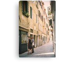 Window Shopping in Venice, Italy Metal Print
