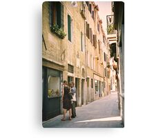 Window Shopping in Venice, Italy Canvas Print
