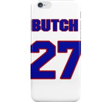 National baseball player Butch Wynegar jersey 27 iPhone Case/Skin