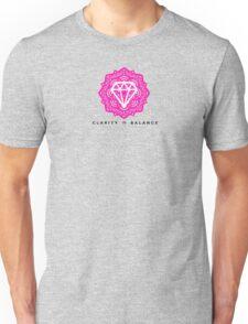 Diamond Life: Clarity ∞ Balance (Mystery style) Unisex T-Shirt