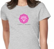 Diamond Life: Clarity ∞ Balance (Mystery style) Womens Fitted T-Shirt