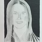 Portrait of Jennifer Aniston by Nat34