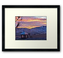 Look to the East Framed Print