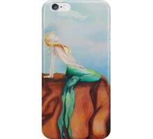 Mermaid's Moods: Calm iPhone Case/Skin