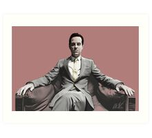 BBC SHERLOCK: Moriarty Art Print