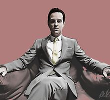BBC SHERLOCK: Moriarty by silverFlame265