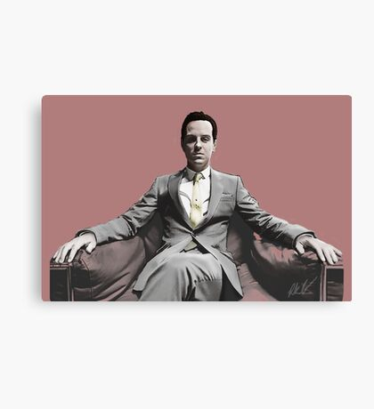 BBC SHERLOCK: Moriarty Canvas Print