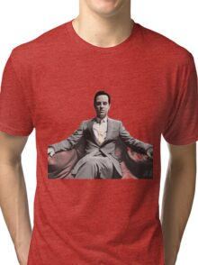 BBC SHERLOCK: Moriarty Tri-blend T-Shirt