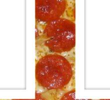 pizza cross Sticker