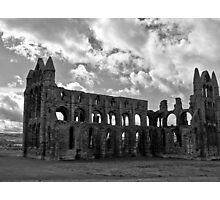 Whitby Abbey North Yorkshire Photographic Print