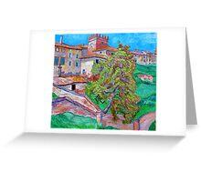 Villa Saletta in Tucany, Italy Greeting Card