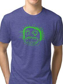 Portrait - lime Tri-blend T-Shirt