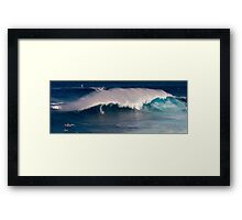 Jaws - Maui Framed Print