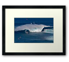 Jaws II - Maui Framed Print