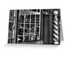 Barber Shop St. Charles, IL Greeting Card