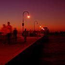 St Kilda Dusk by Paul Tait