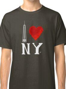 I Love NY Freedom (wht) by Tai's Tees Classic T-Shirt