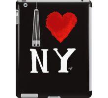 I Love NY Freedom (wht) by Tai's Tees iPad Case/Skin