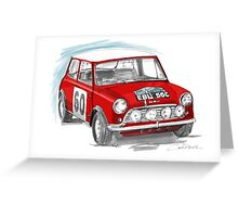 Red Cooper Greeting Card