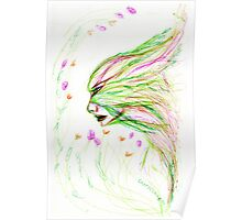spring faery-féérie printanière Poster