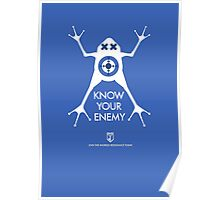 ingress : know your enemy Poster