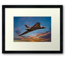 Vulcan Bomber Framed Print