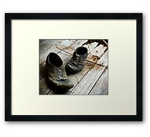 The Extra Mile Framed Print