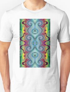 Wurburbo Fractal Art Unisex T-Shirt
