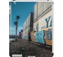 Runaway Train in the winter iPad Case/Skin