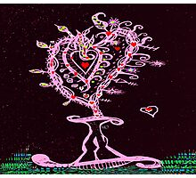 Valentine 2015 Hearts Forever Photographic Print