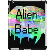 Alien Babe iPad Case/Skin
