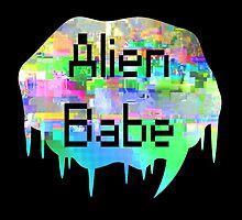 Alien Babe by FeministFruit