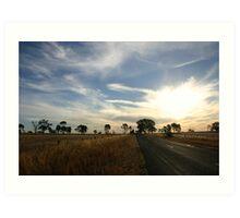 Rural Australia Art Print