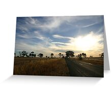 Rural Australia Greeting Card