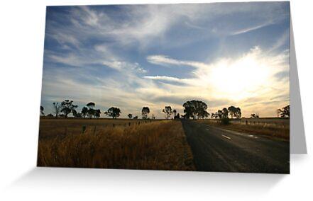 Rural Australia by Erland Howden