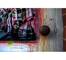 Door to Happiness,enter Photographic Print