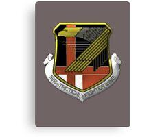 Yellow Squadron Insignia Canvas Print