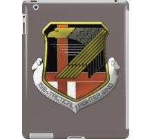 Yellow Squadron Insignia iPad Case/Skin