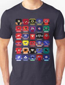 8-Bit Hockey Jerseys 2 T-Shirt