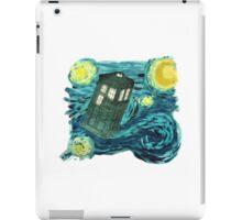 Starry Tardis iPad Case/Skin